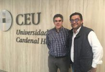 Los doctores Joaquín Ortega y José Vicente Amaya son los impulsores de este primer proyecto a nivel nacional de abordaje conjunto de los sarcomas, desde la Veterinaria y la Medicina.