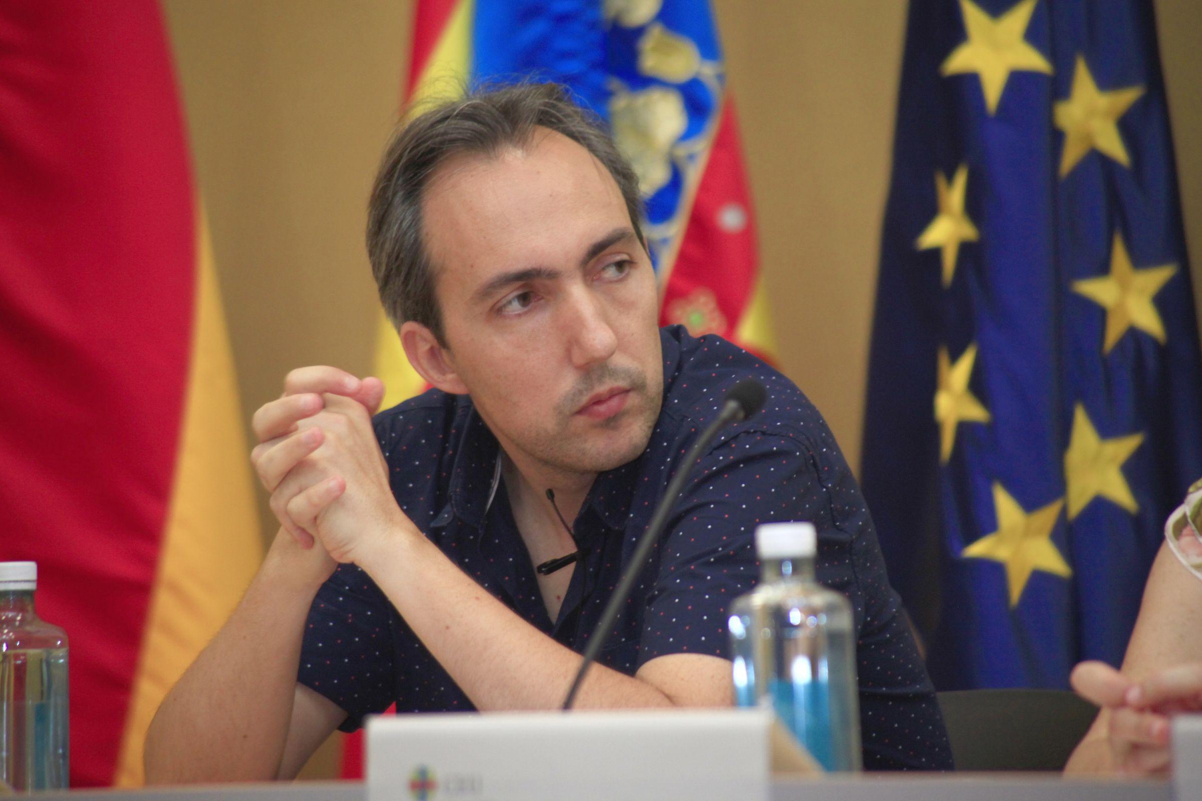 Carles Úbeda, licenciado y doctor por la CEU UCH e investigador del Departamento de Genómica y Salud de FISABIO.
