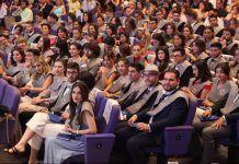 Acto de Graduación de las nuevas promociones en Comunicación 2018 de la CEU UCH.