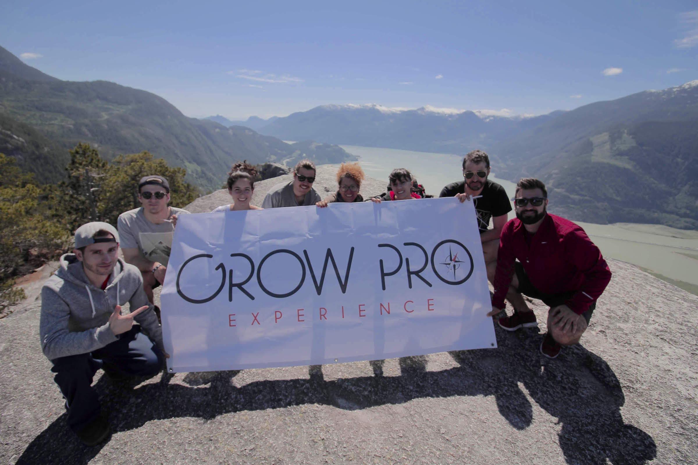 GrowPro en Stawamus Chief (Canadá). Aunque todo empezó en Australia...