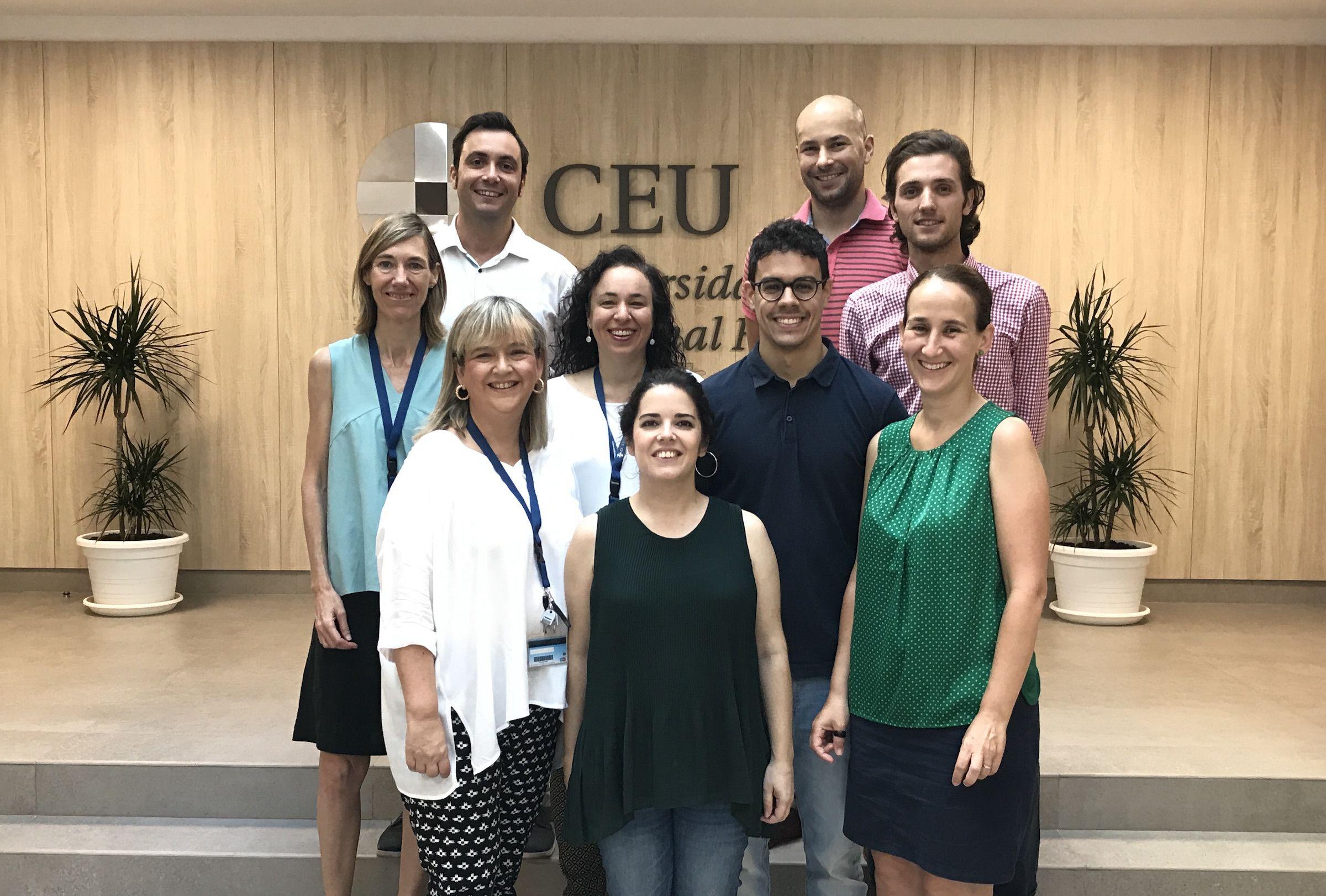 El Grupo de Investigación sobre Estrategias Terapéuticas en Patologías Oculares de la CEU UCH.