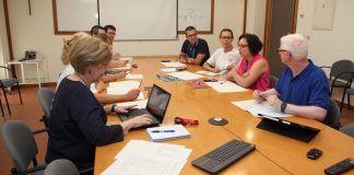 Primera reunión de trabajo del equipo del nuevo Instituto de investigación ODISEAS, de la CEU UCH.