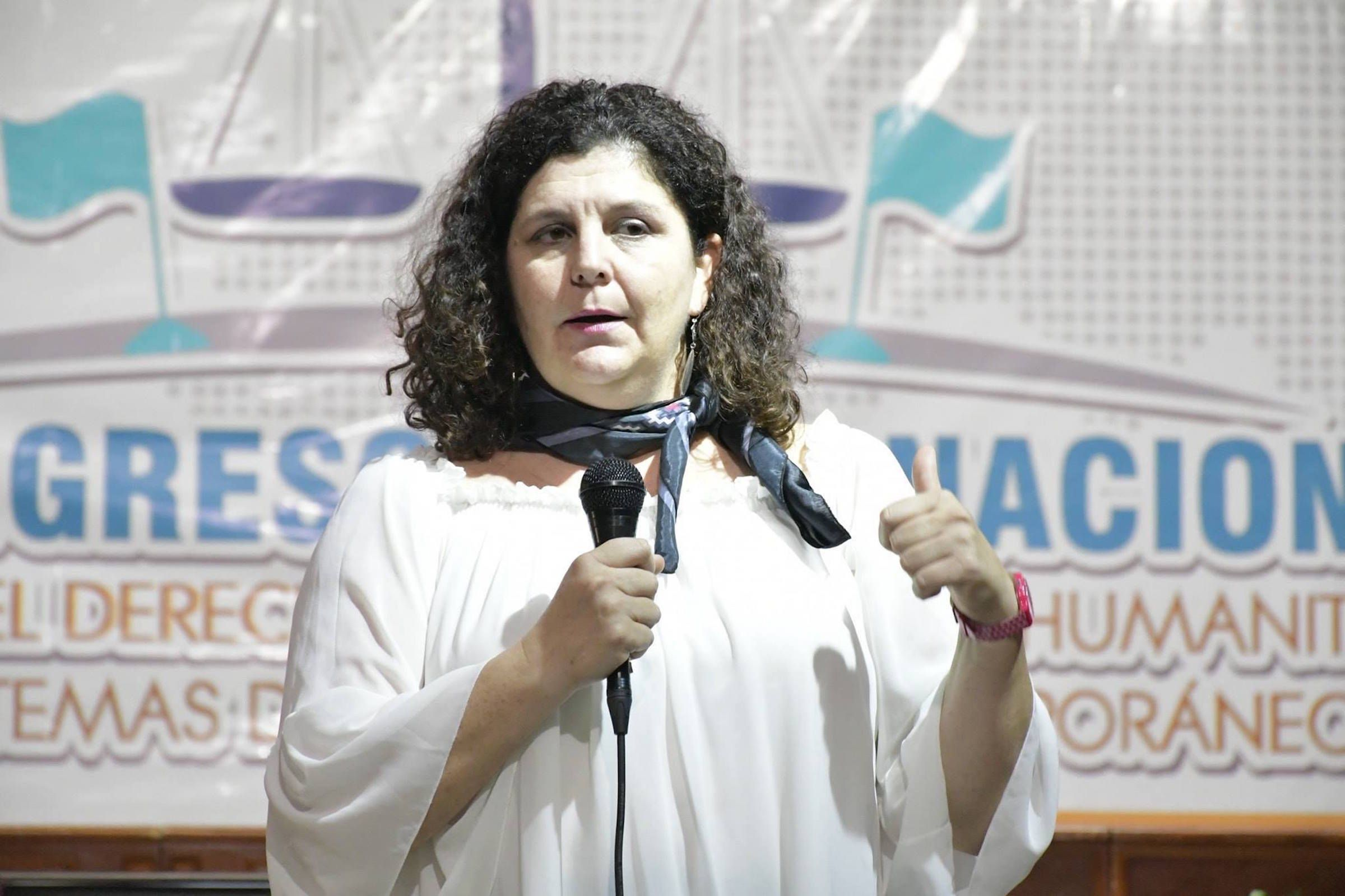 Ruth Abril, única ponente española en el XII Congreso de Aplicación del Derecho Internacional Humanitario, celebrado en México.