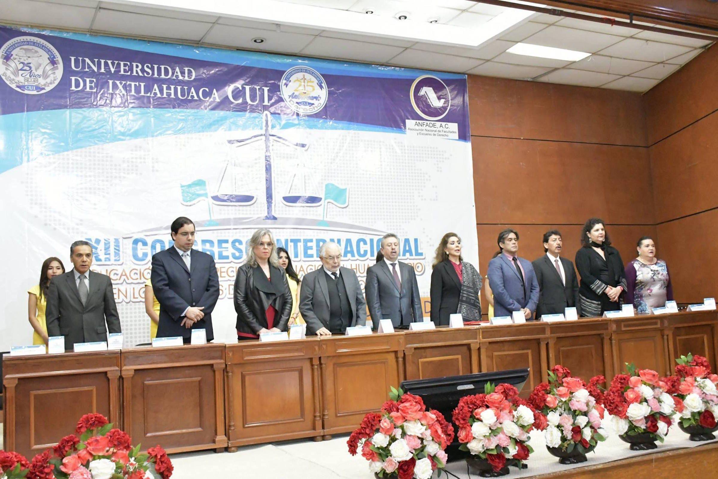 Expertos en Derecho Internacional de México, Chile y Venezuela han participado en este Congreso, celebrado en la Universidad de Ixtlahuaca CUI.