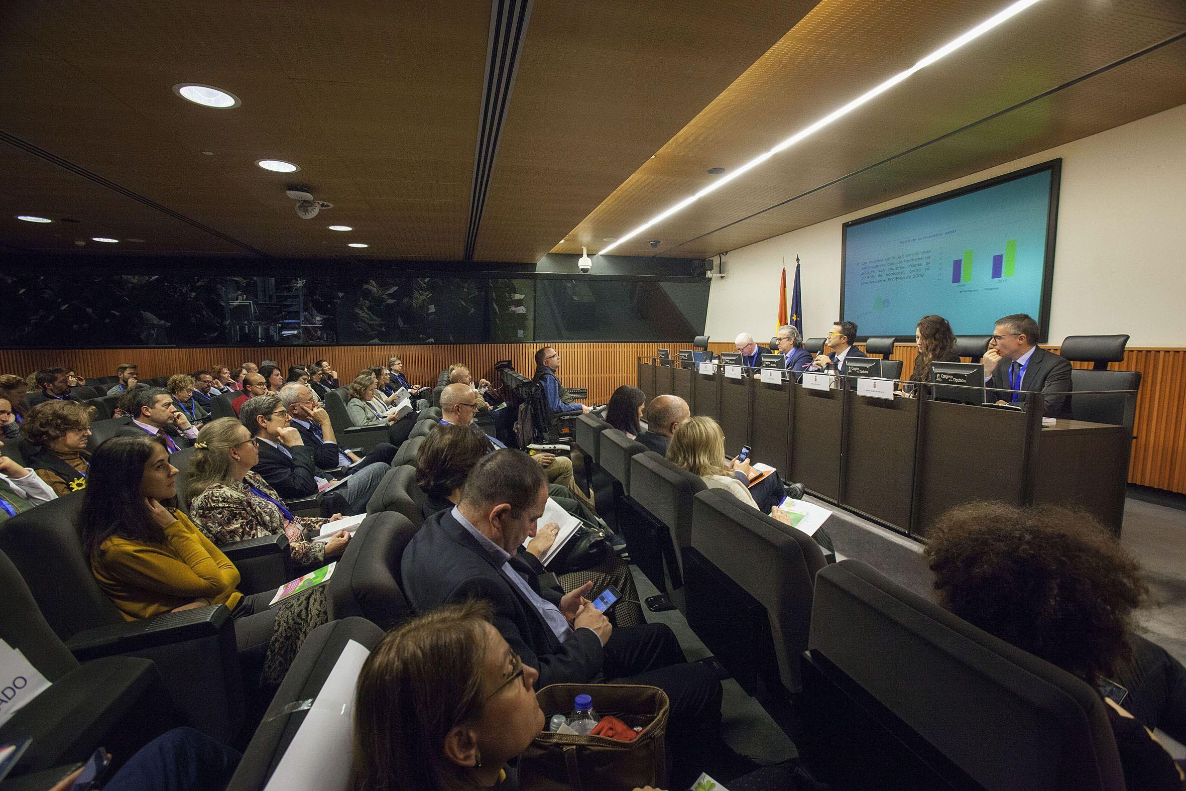 Presentación en el Congreso de los Diputados del estudio ENSERio. Foto: FEDER. ©MIGUEL BERROCAL