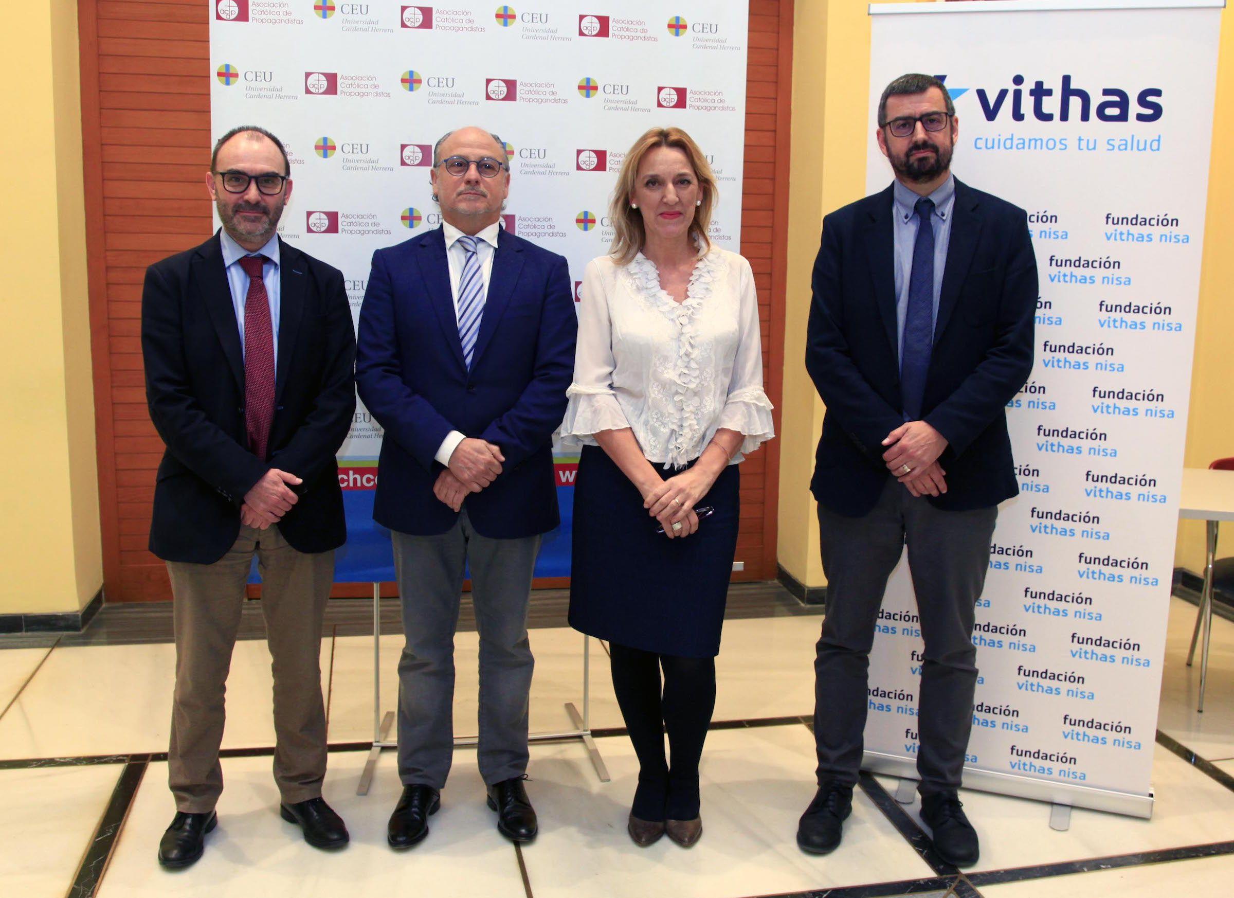 Ignacio Pérez, José Piquer, Mar Álvarez y Joan Ferri.