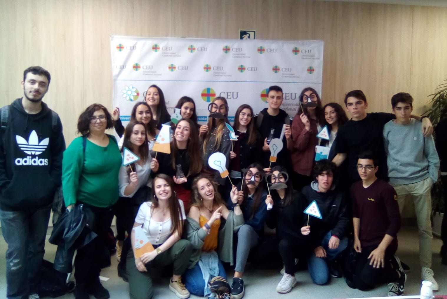 Estudiantes del Colegio San Pedro Pascual, participantes en el proyecto SWICEU.