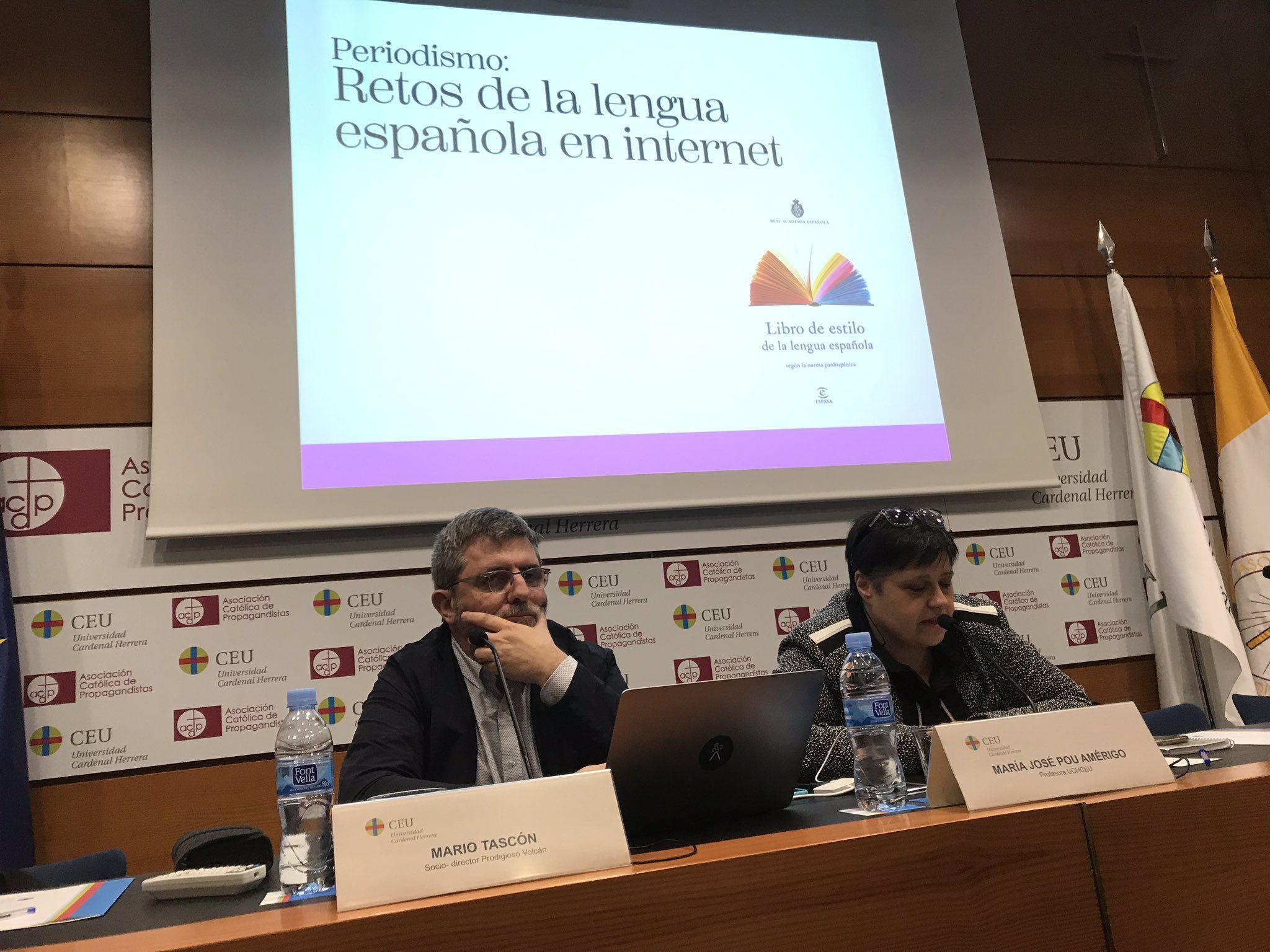 Mario Tascón ha vuelto ha participar, 20 años después, en las Jornadas de Periodismo Digital de OIMED en la CEU UCH.