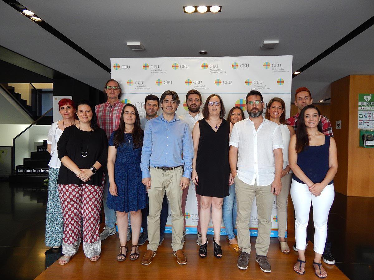 Investigadores del Grupo TXP de la CEU UCH.