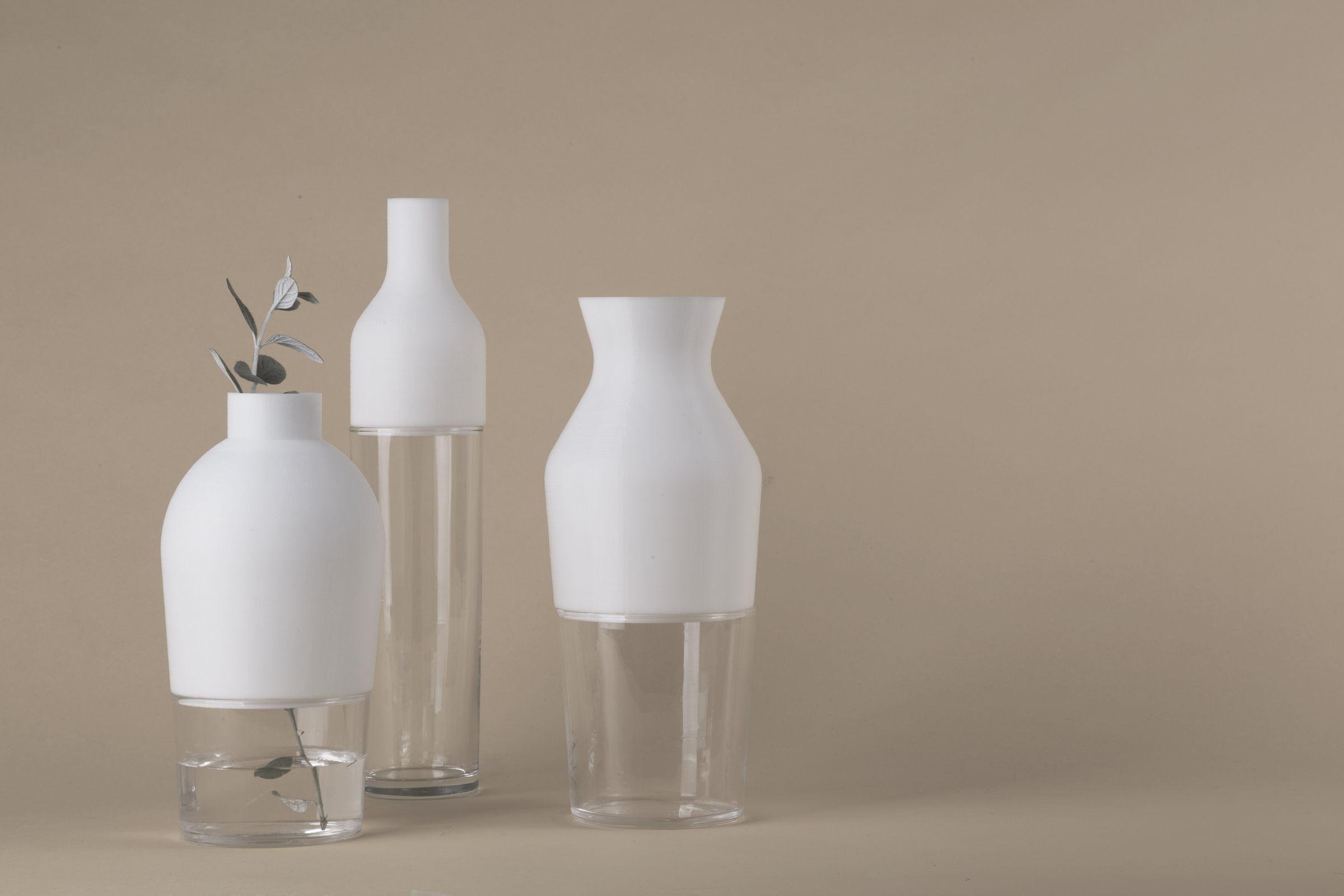 Jarrones Duo, de Teresa Castillo, alumna del Máster en Diseño de Producto de la CEU UCH.