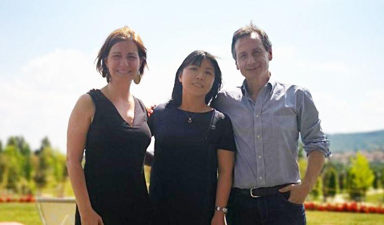 Los profesores Sanz, Yunxia y Cippitani, participantes en la jornada científica sobre la UE.