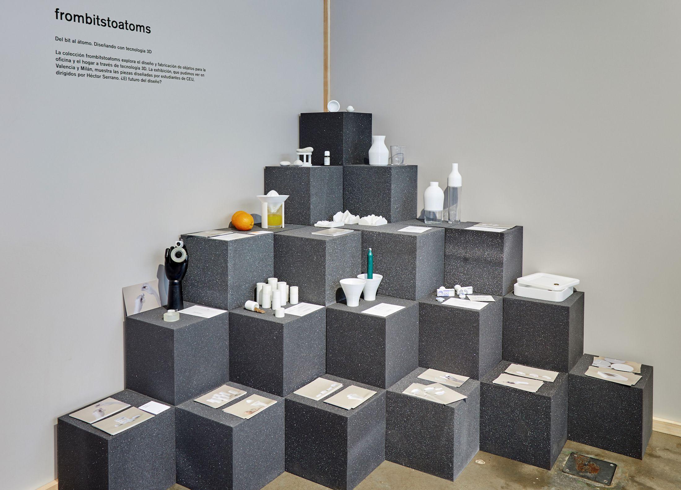 La colección 'frombitstoatoms' de Diseño CEU UCH, en Nude 2019.