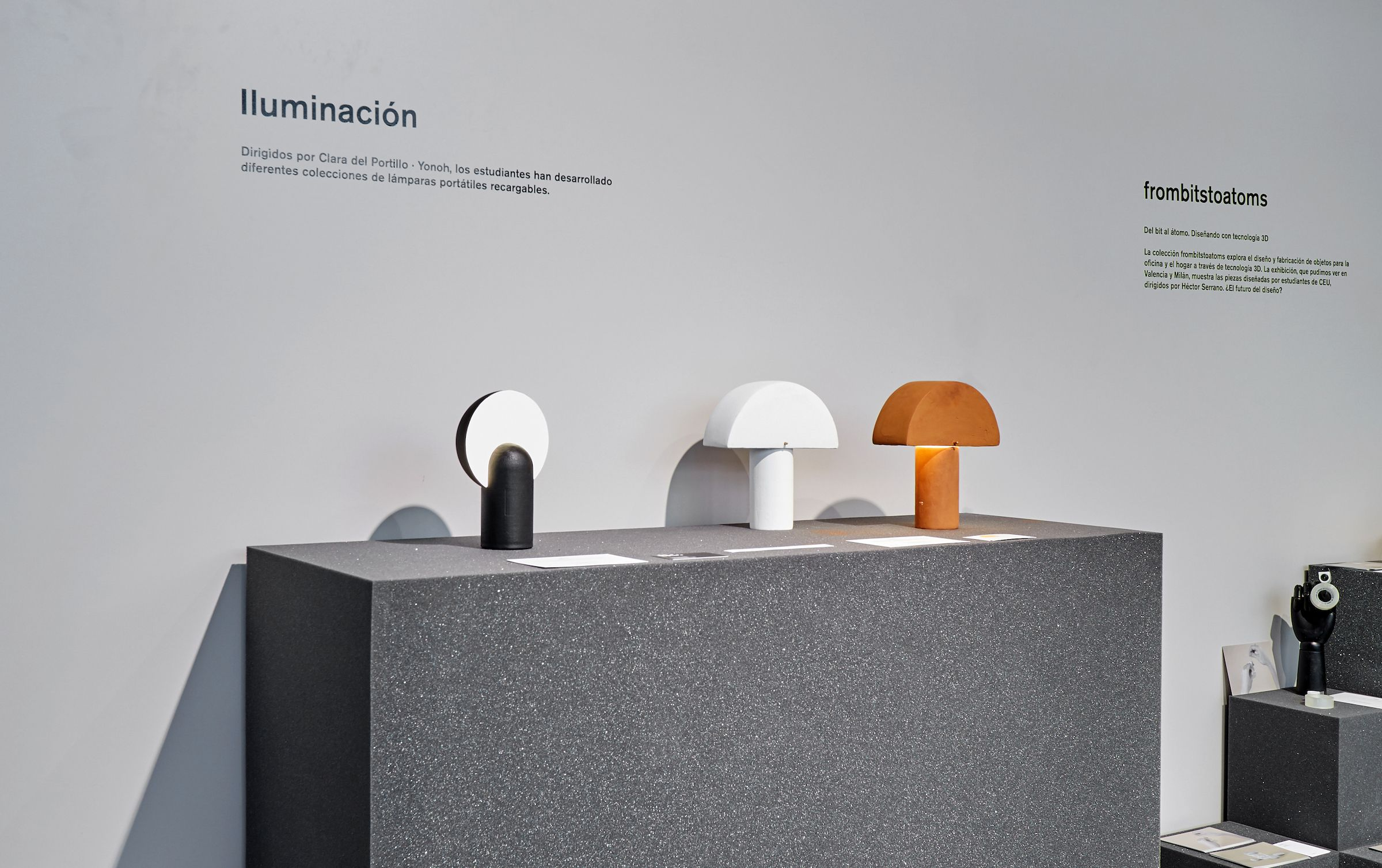 Los diseños Lighting, de estudiantes del CEU, en Nude 2019.