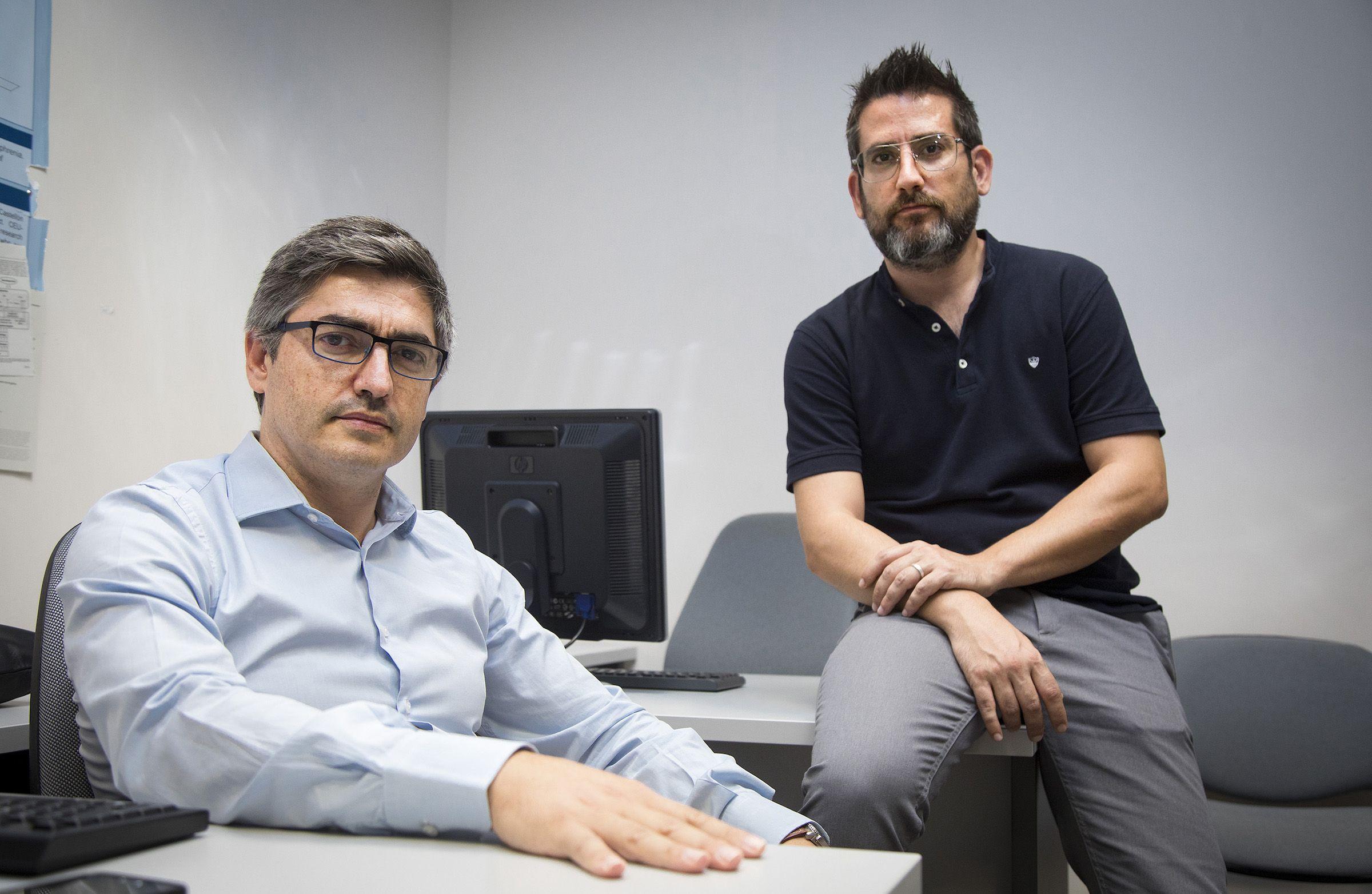 Los profesores de Medicina de la CEU UCH Gonzalo Haro y Francisco Arnau, coautores del estudio más amplio realizado en España sobre pacientes derivados a la consulta de psiquiatría penitenciaria.