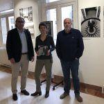 Con Stéphanie Migniot, Responsable de Actividades Culturales del Colegio de España de París.