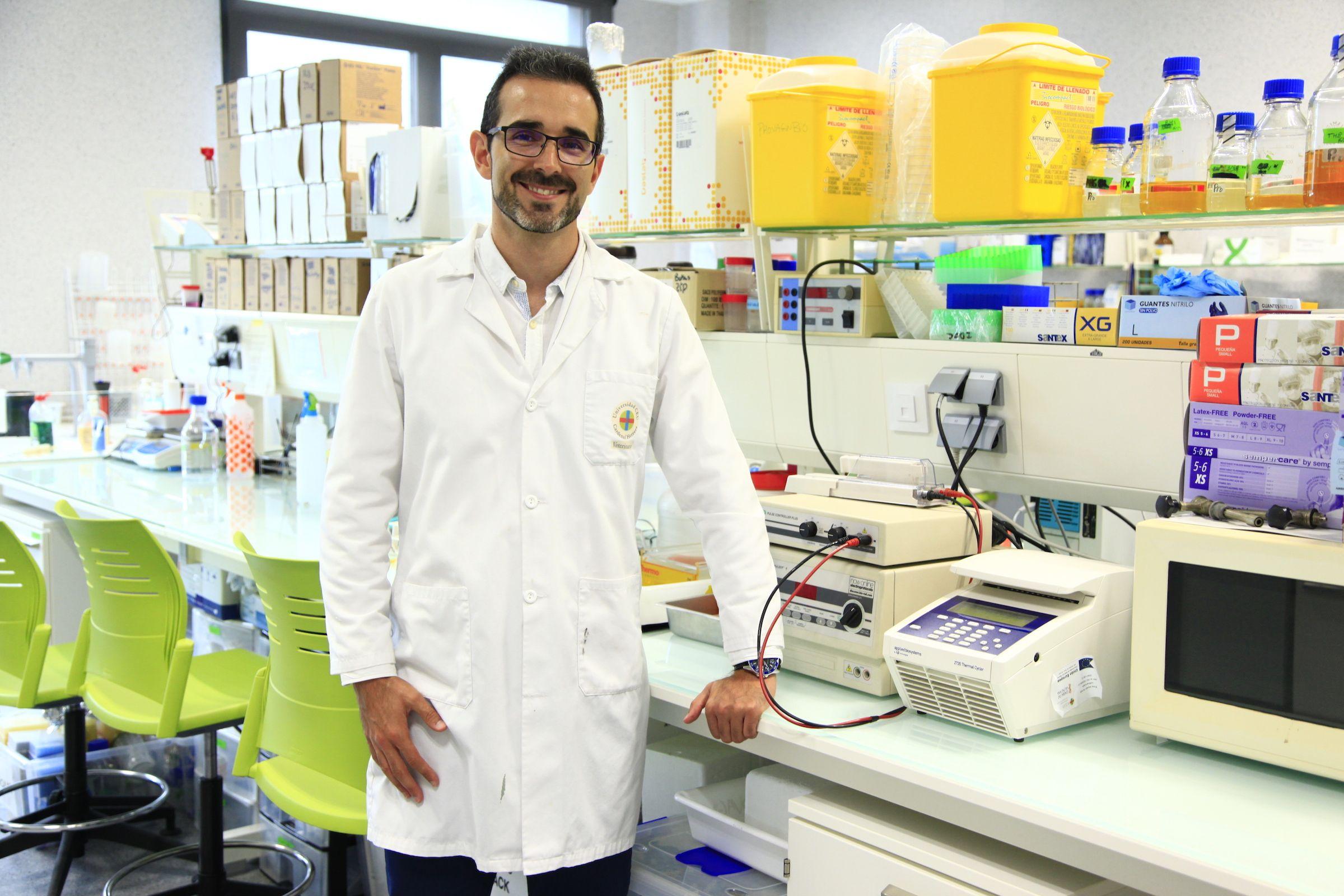 Juan José Quereda, investigador Ramón y Cajal y profesor de la CEU UCH.