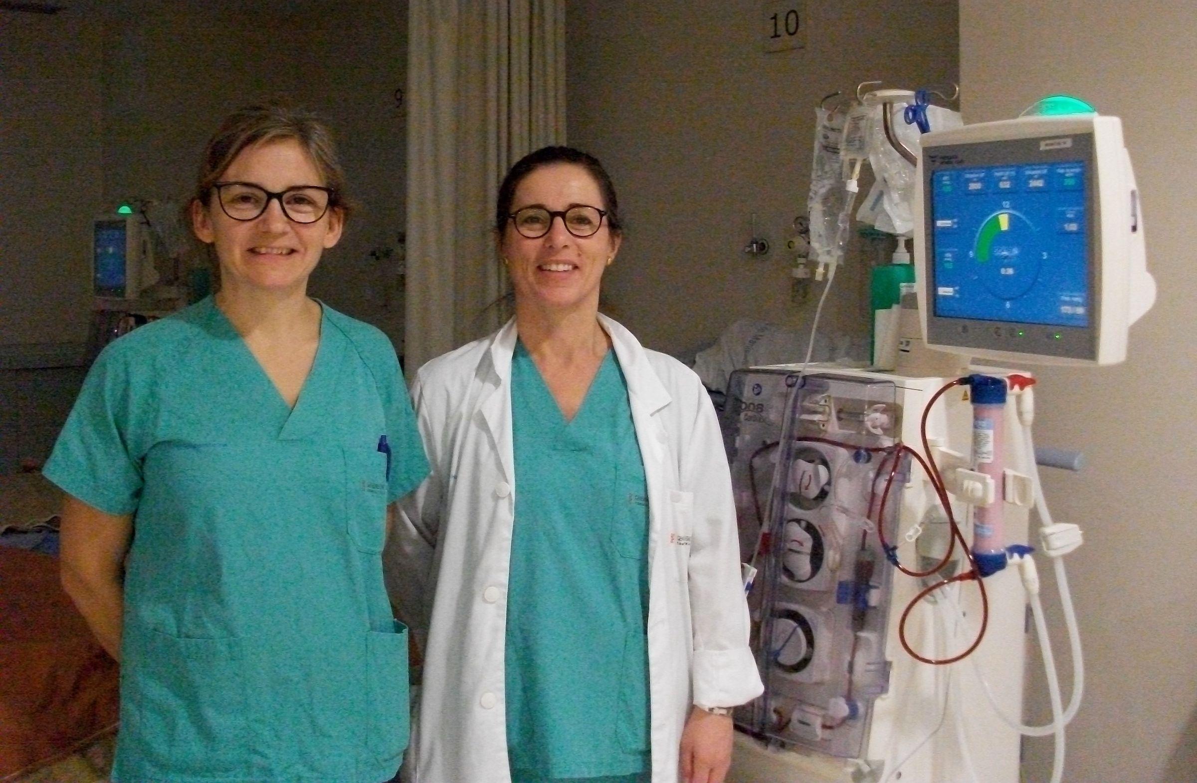 Eva Segura (CEU UCH) y Alicia García Testal (Hospital de Manises).