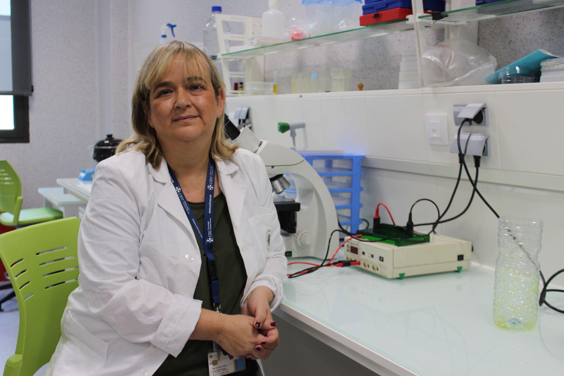 La investigadora María Miranda Sanz, coordinadora del Grado en Óptica y Optometría de la Universidad CEU Cardenal Herrera.