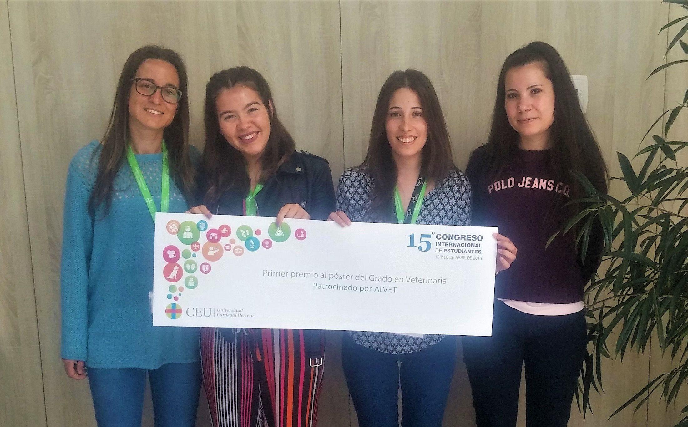 En el Congreso Internacional de Estudiantes (CIE), de la CEU UCH.