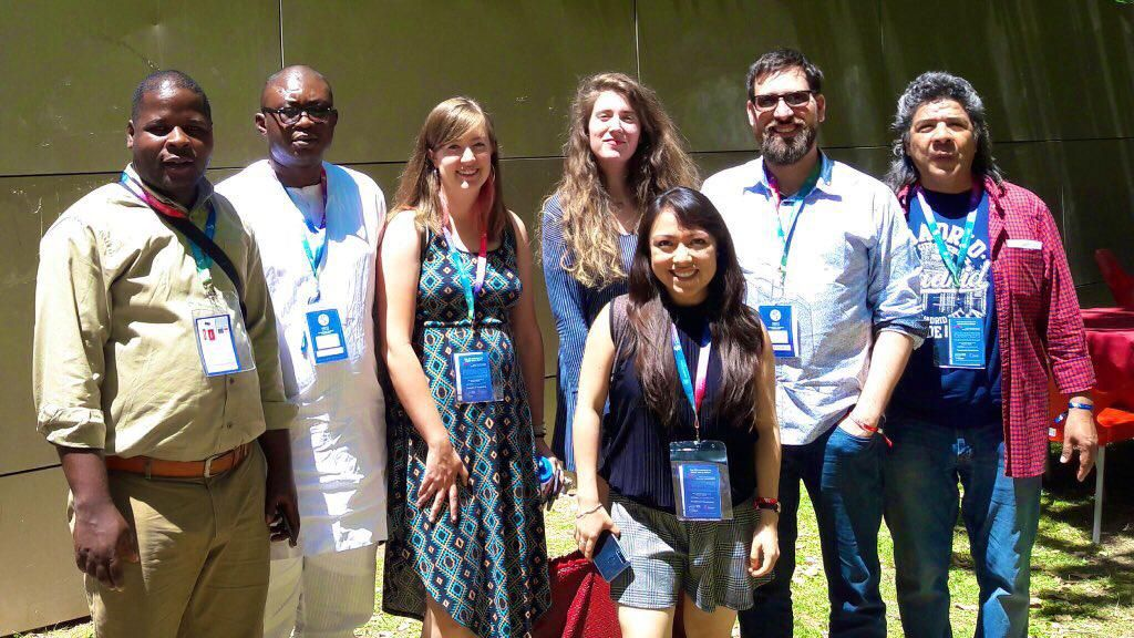La estudiante de Periodismo de la CEU UCH, Rosa Estevan, en el primer encuentro de la Young Scholars Ethics Network (YSEN).