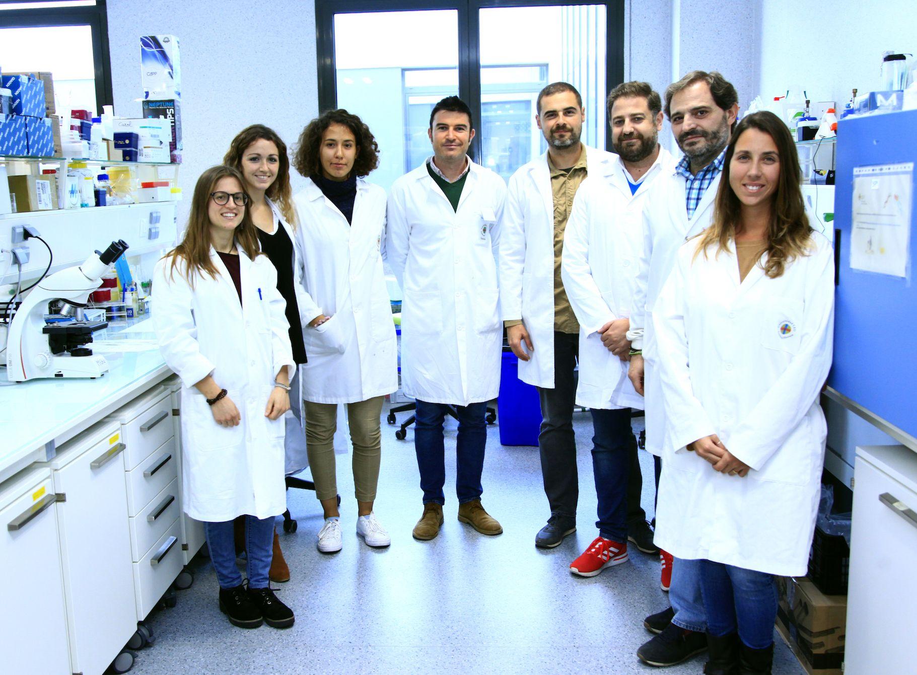 Los investigadores del Grupos SAIGAS de la Facultad de Veterinaria de la CEU UCH participantes en el proyecto.