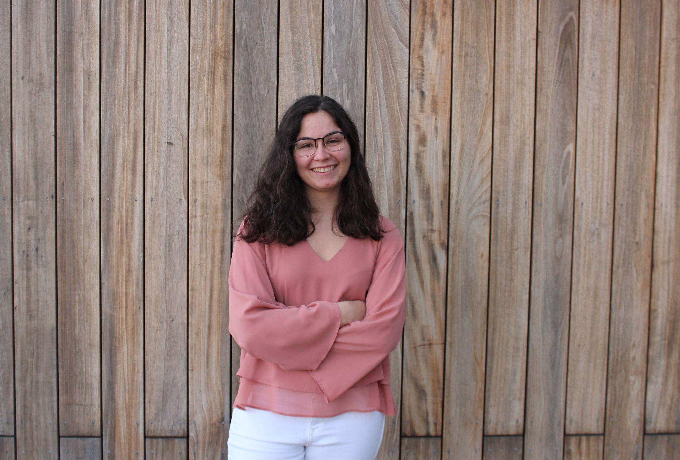 Marina Redondo, delegada general de la CEU UCH en el curso 2019-20.