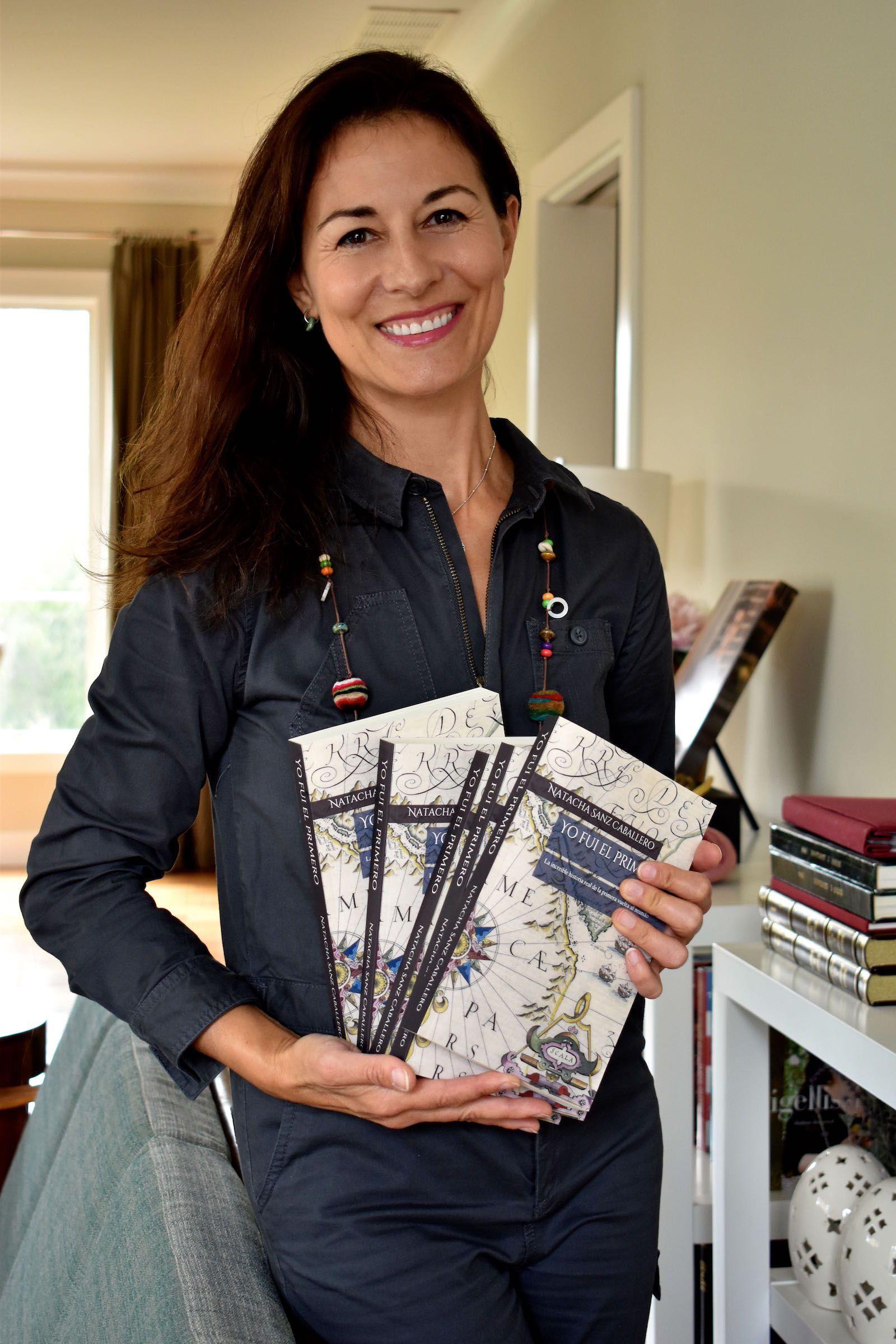 """Natacha Sanz, autora de la novela """"Yo fui el primero"""", publicada por Amazon en Estados Unidos."""