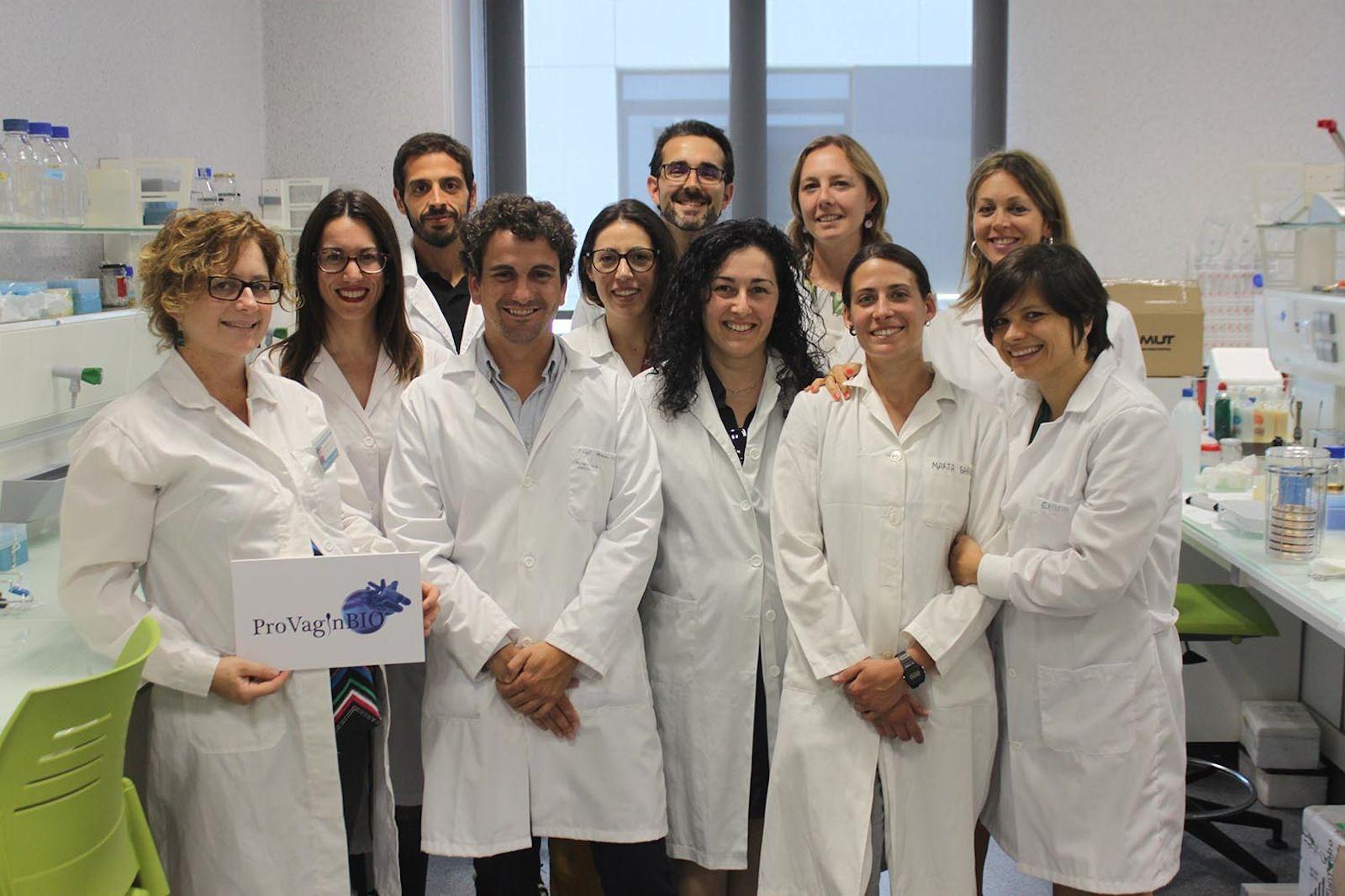 Los investigadores de la Facultad de Veterinaria de la CEU UCH autores del estudio, integrantes del Grupo de Investigación Agentes Microbiológicos asociados a la Reproducción (ProVaginBio).