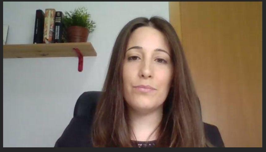 Sara Pérez Fuentes, doctoranda de CEINDO, ha sido la primera en defender su tesis online.