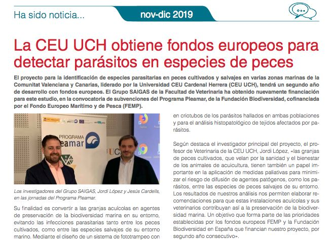 Anuario InfoRuvid 2019.