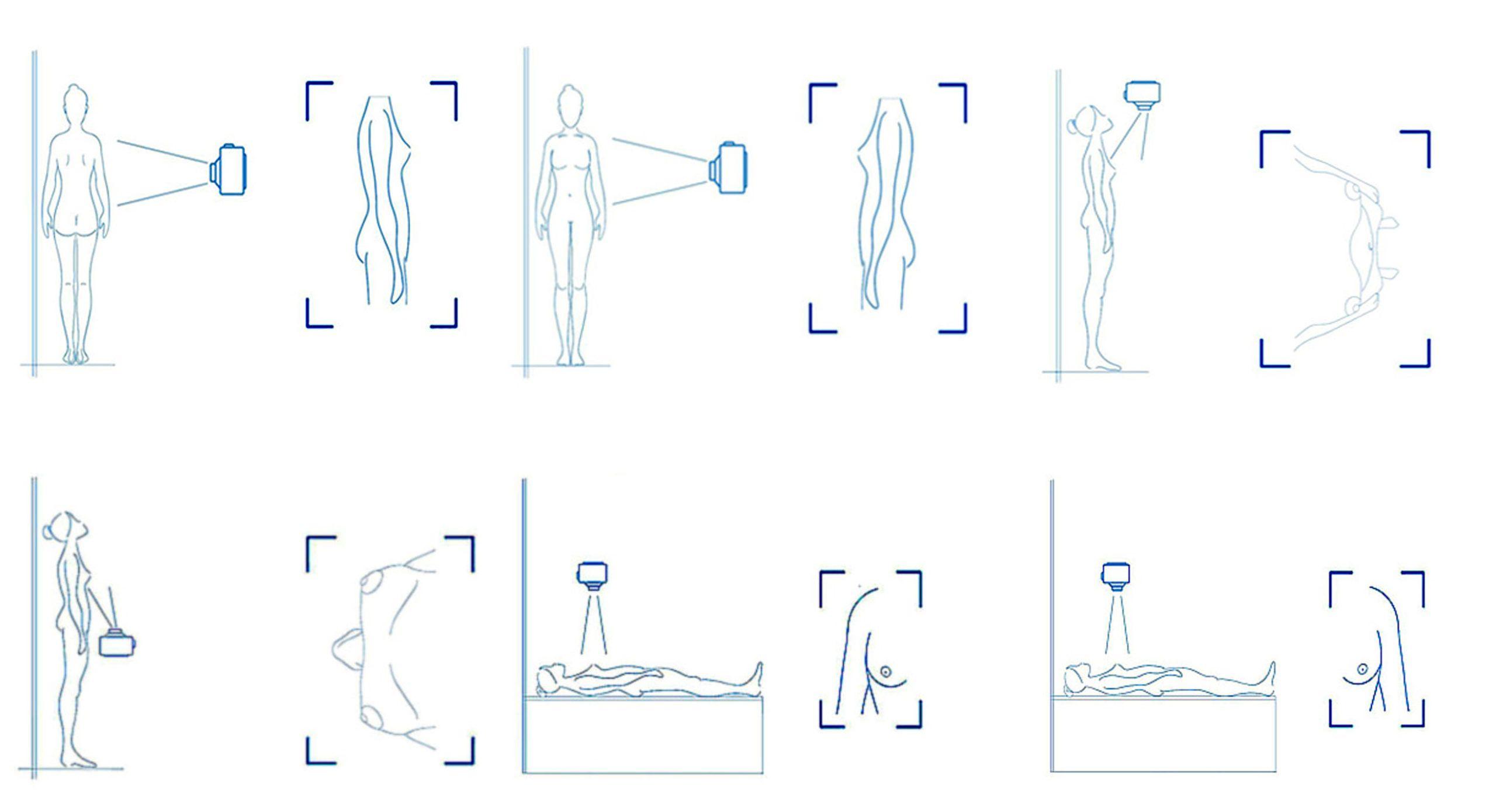 Fragmento de la checklist del primer protocolo para la toma de fotografías previas a la cirugía del cáncer de mama, diseñado por la CEU UCH y la UNAM.