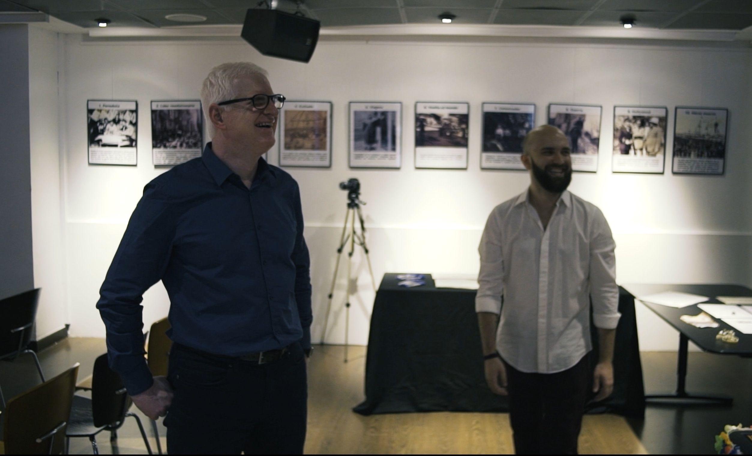 Josep Solves y Miguel Ángel Font, codirectores del Título de Experto en Comunicación Inclusiva de la CEU UCH.
