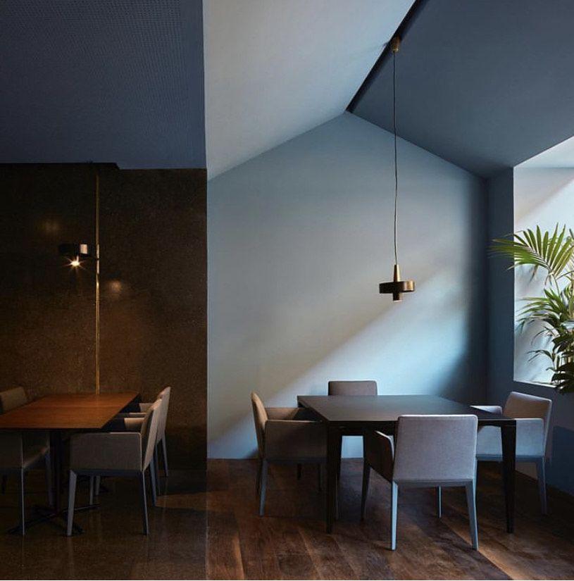 Diseño de interiores del restaurante Teide, de Horma Estudio.
