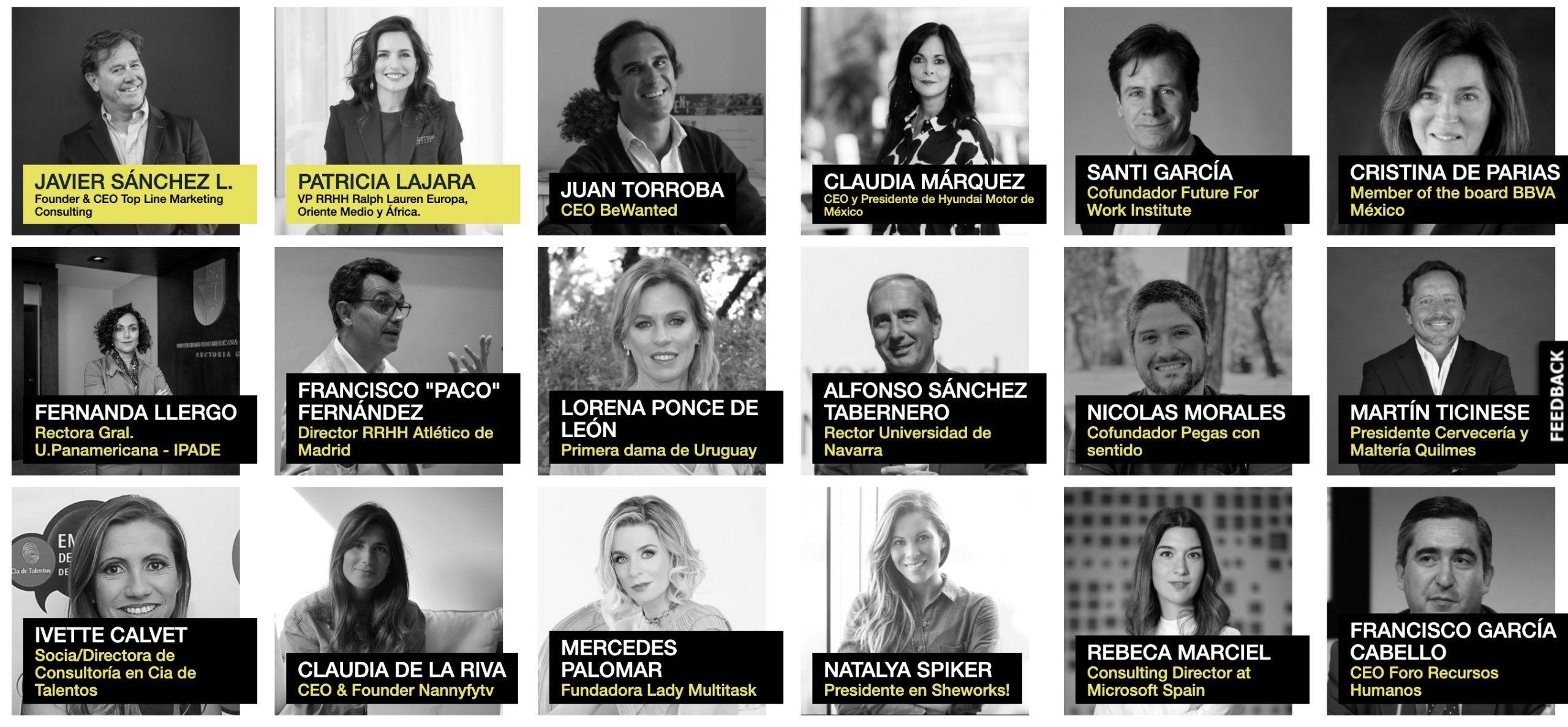 Ponentes del Iberoamerican Work Challenge Forum.