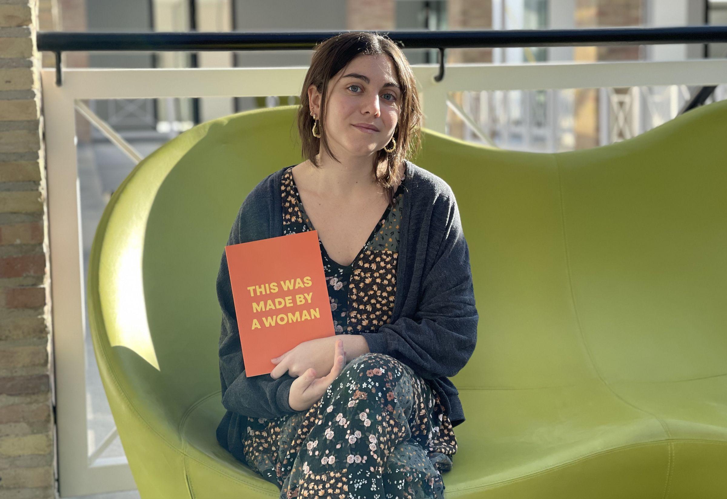 """Máster en Diseño y Comunicación Gráfica por la CEU UCH, Sara Antolín colabora en la sección """"Diseño en Femenino"""", de Valencia Capital Mundial del Diseño (WDCV 2022)."""