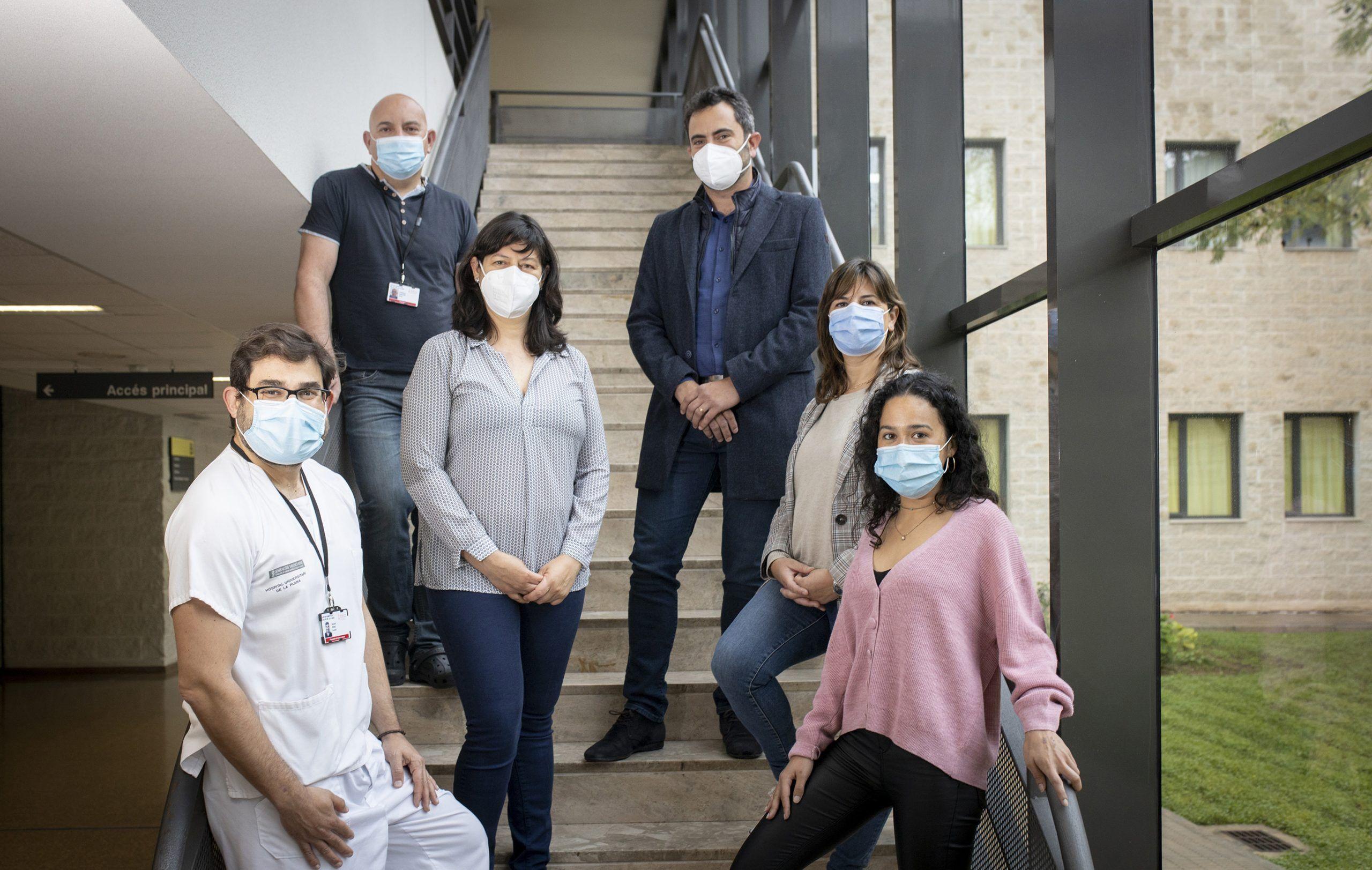 Investigadores de la Facultad de Ciencias de la Salud de la CEU UCH en Castellón y del Hospital Universitario de La Plana, autores del estudio sobre giardiosis en población pediátrica.