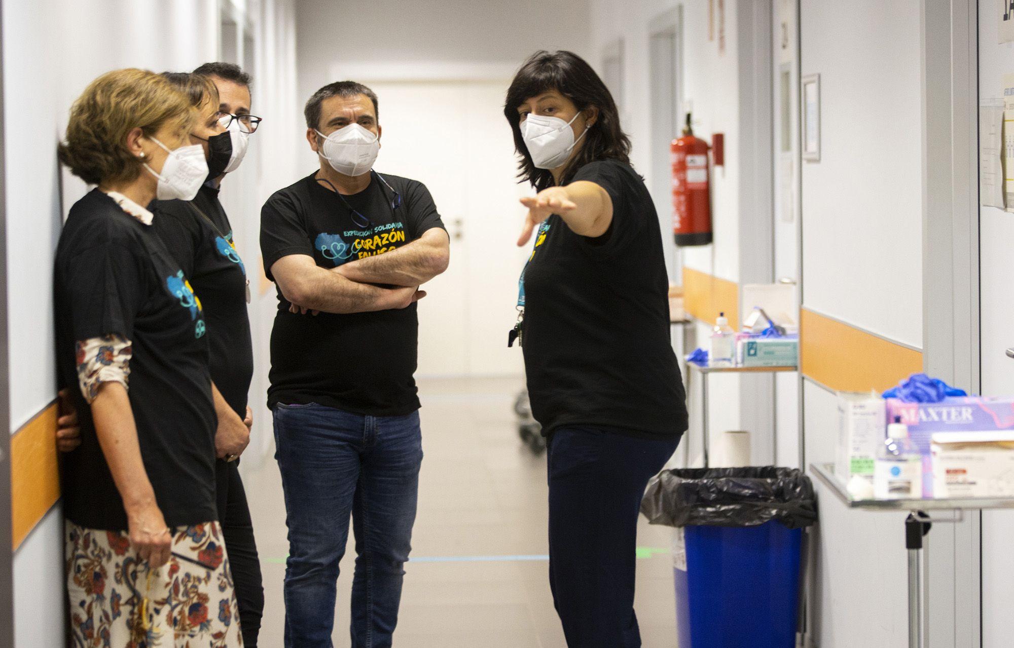 vicedecana CEU con representantes enfermería de universidades españolas
