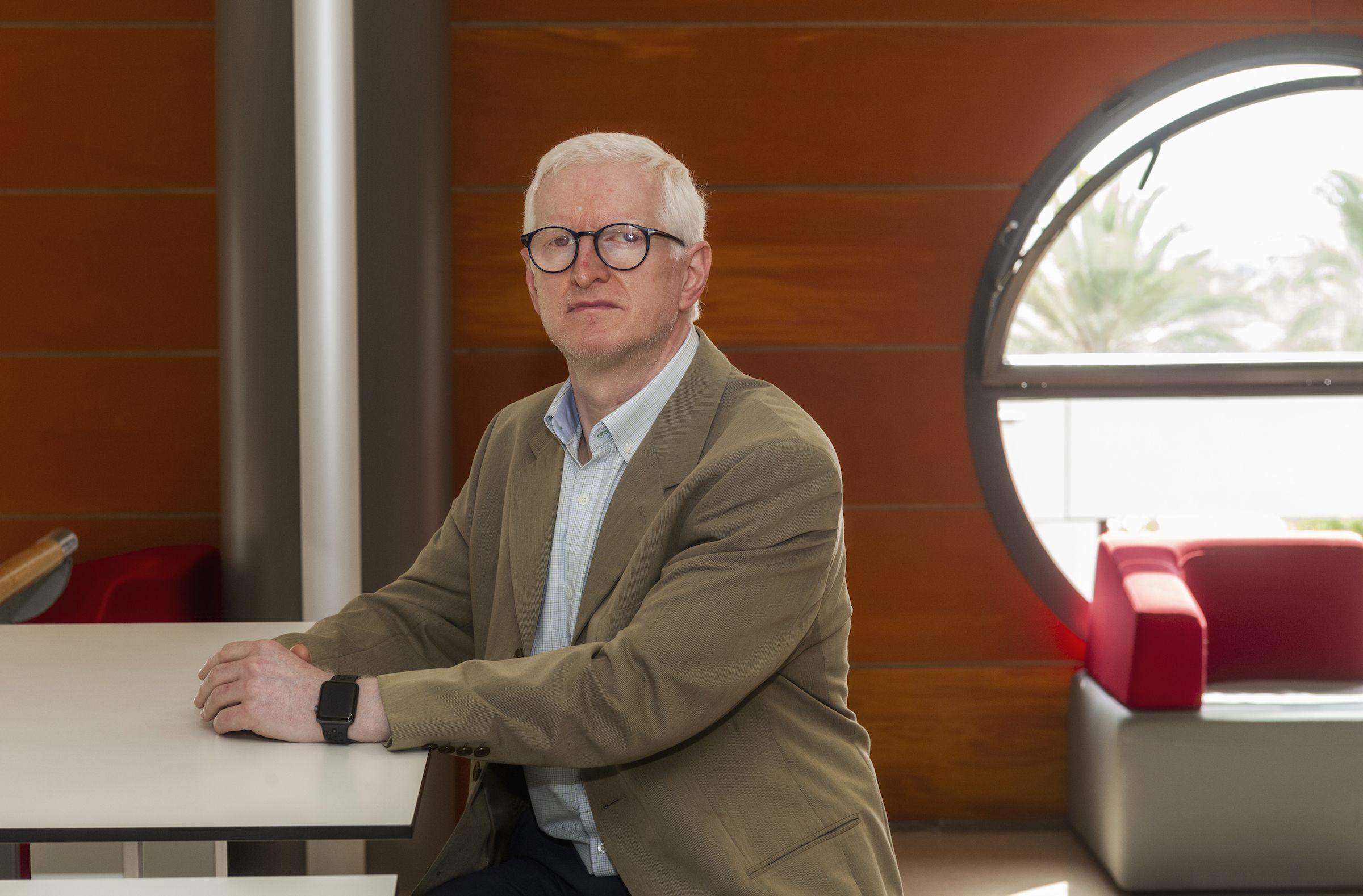 El profesor de Periodismo de la CEU UCH Josep Solves es investigador del proyecto DIPURE, integrado por profesores de las Universidades de Almería y Murcia.
