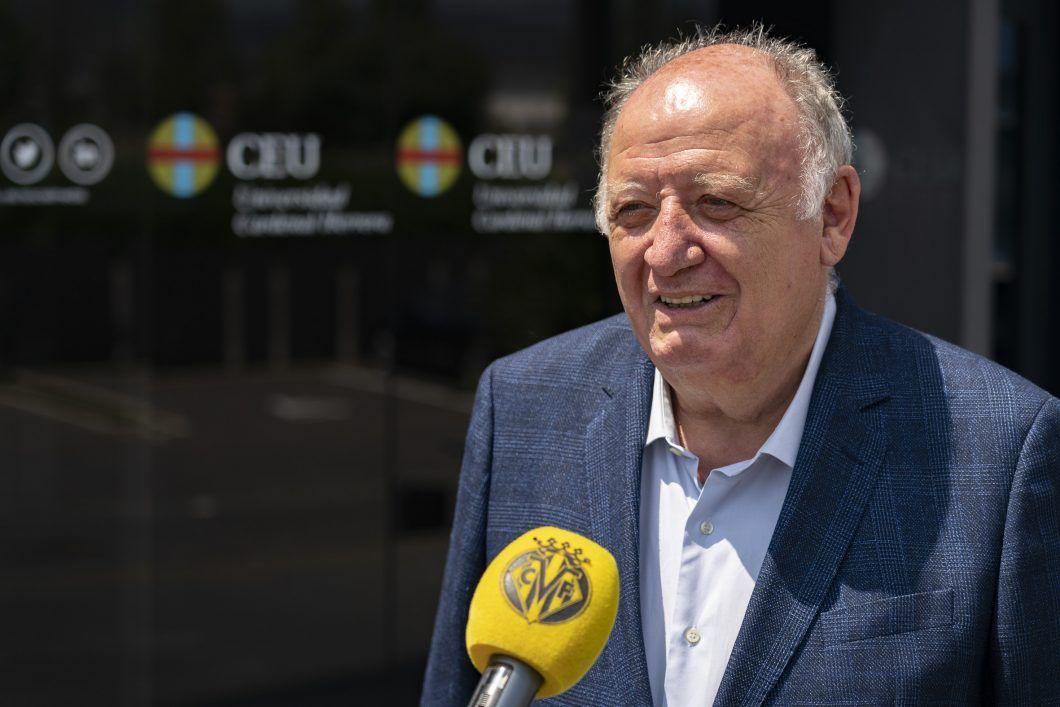 El Vicepresidente del Villarreal CF. Villarreal y CEU refuerzan su colaboración