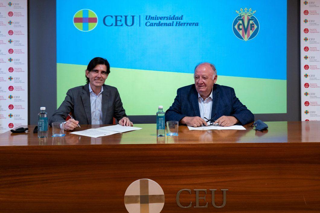 Villarreal y CEU refuerzan su colaboración