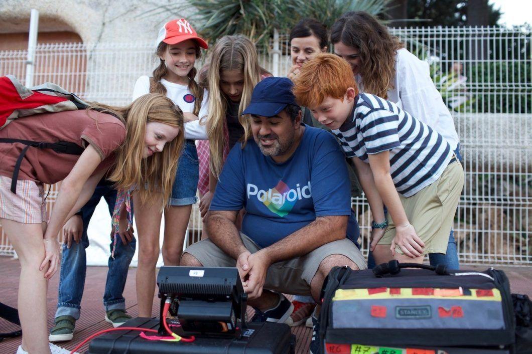 """Fotos de Víctor Claramunt, durante el rodaje de """"Be Nice & Rewind""""."""