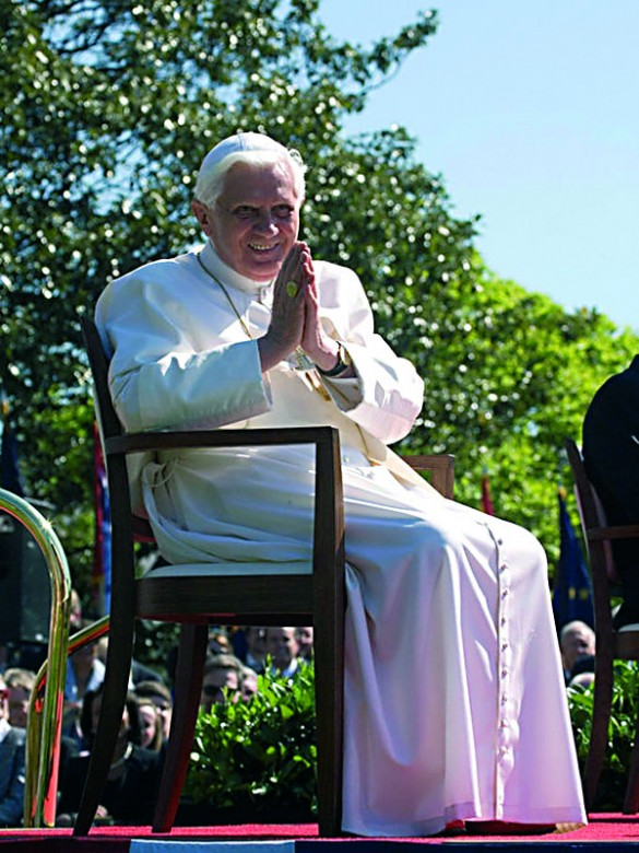 El Papa en Washington en 2008. / Camptown