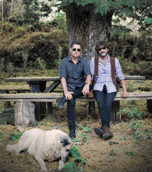 Quique González y Lapido. ¡Soltad a los perros!// Foto: Fernando Maquieira