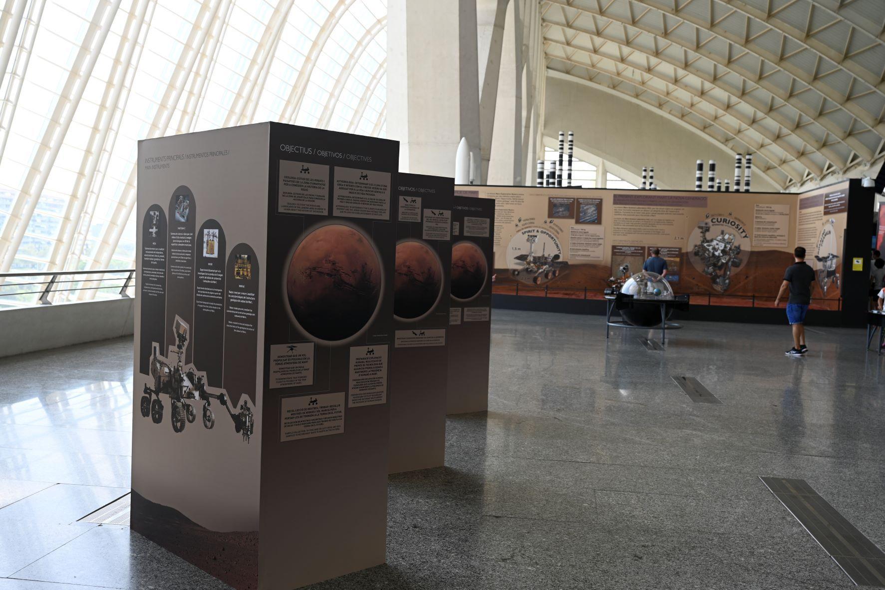 Museo Ciencias Valencia Exposición Marte